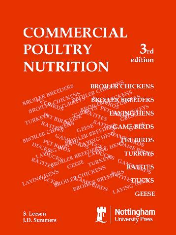 PDF) Commercial Poultry Nutrition | Wati Gonzales - Academia edu
