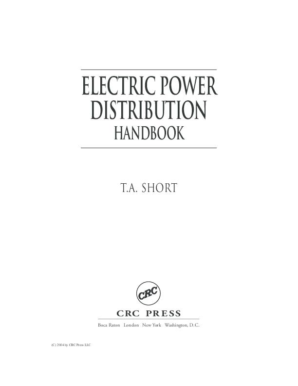 Book electric power distribution handbook alimuddin jte