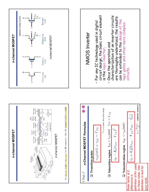 PDF) n-channel MOSFET n-channel MOSFET n-Channel MOSFET