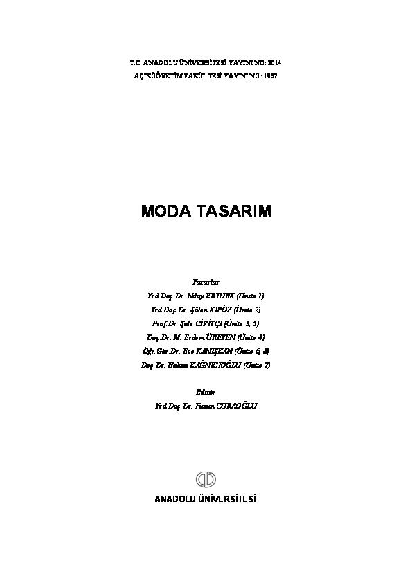 Moda Tasarim Yasemin Arslan Academiaedu