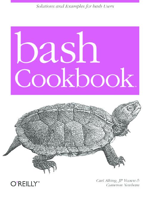 PDF) bash Cookbook | ga con - Academia edu