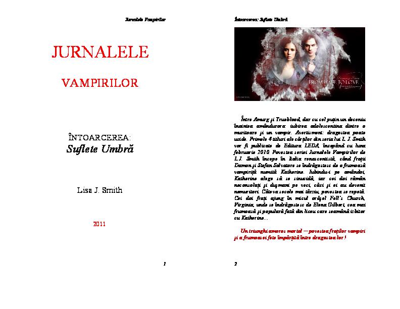 Jurnalele Vampirilor Lupta Pdf