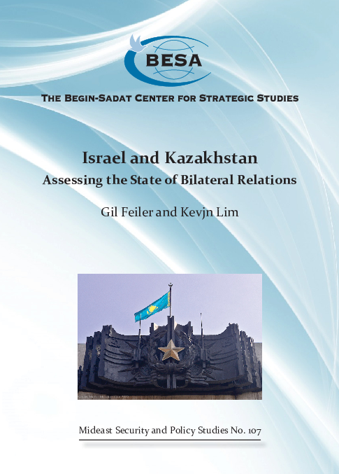 PDF) Israel and Kazakhstan: Assessing the State of Bilateral