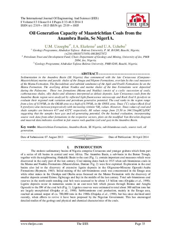 Pdf The International Journal Of Engineering And Science The Ijes The Ijes The Ijes Academia Edu