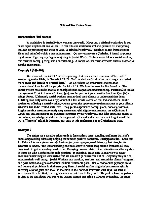 Jane Eyre Essay Thesis Docx Proposal Essay Template also English Literature Essay Structure Biblical Worldview Essay  Tanisha Valenzuela  Academiaedu George Washington Essay Paper