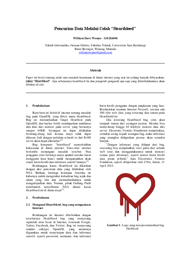 Heartbleed Research Papers Academia Edu