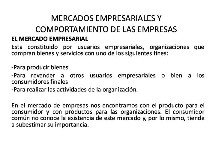 PPT) MERCADO EMPRESARIALES | Liliana Marcela Jimenez Garcia
