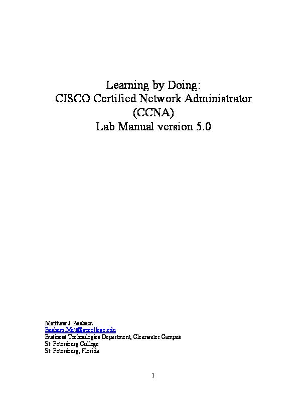 PDF) CCNA Book Lab  Manual v5 | Juan Garcia - Academia edu