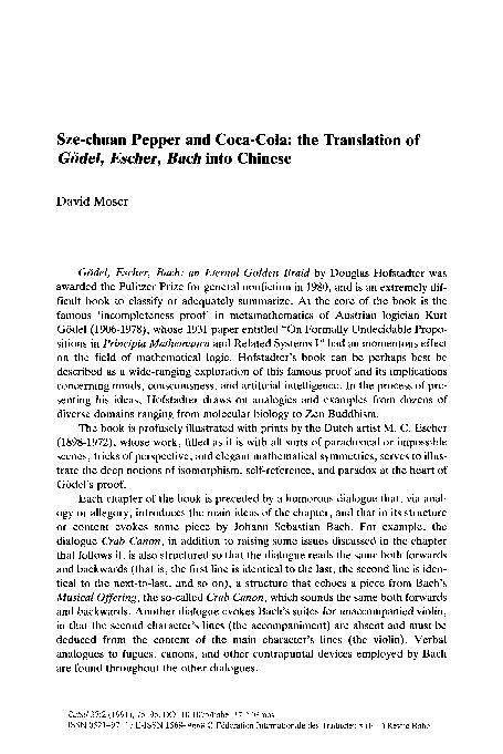 gödel escher bach pdf