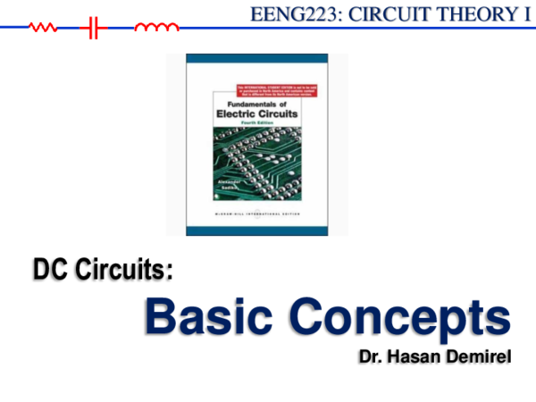 PDF) EENG223: CIRCUIT THEORY I Basic Concepts   Kaumba