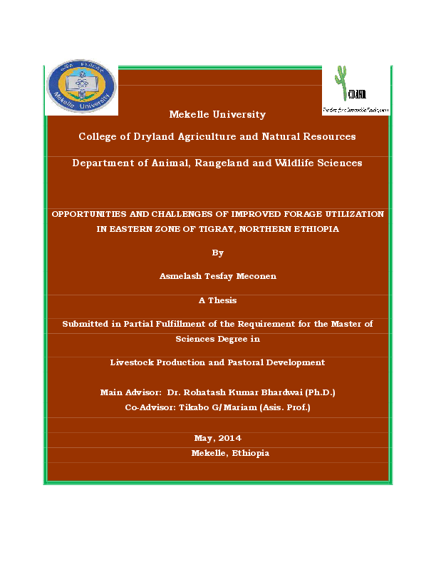 PDF) Student Name Asmelash Tesfay Meconen | Shemelis Tesfay