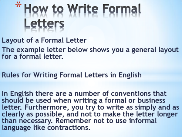 Layout Of A Formal Letter from 0.academia-photos.com