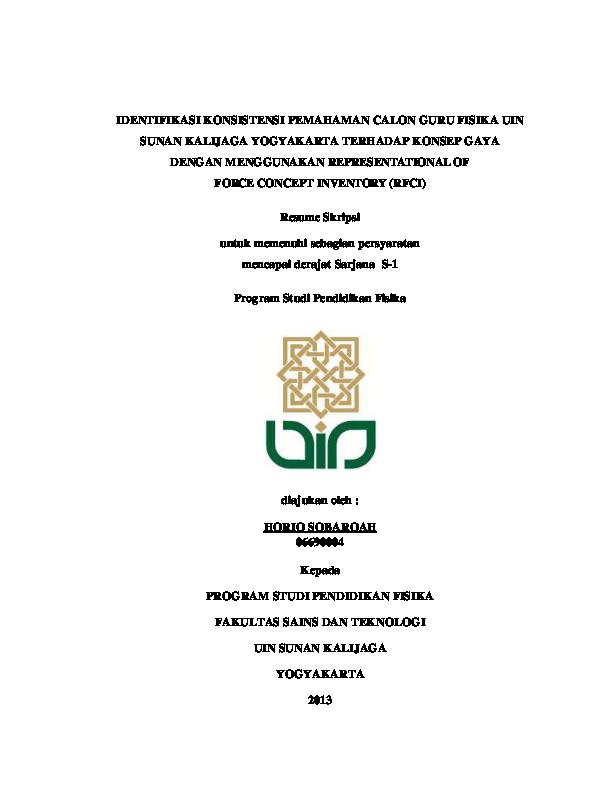 Pdf Resume Skripsi Pemahaman Konsep Dengan Menggunakan Rfci Oleh Horiq Sobarqah Pdf Horiq Sobarqah Academia Edu