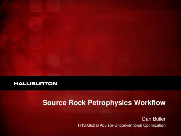 PDF) Midland SPWLA SRR Petrophysics Workflow Dec 2013 Buller