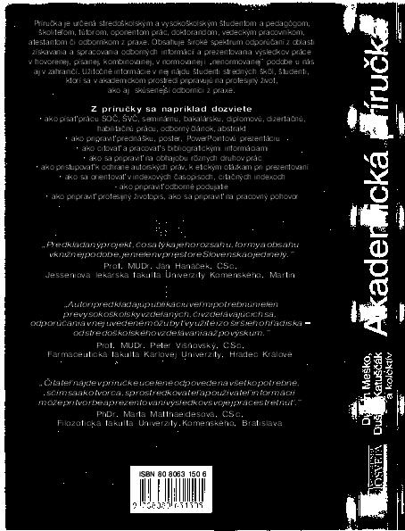 5a9a6a9d2 PDF) Akademicka prirucka Mesko D Katuscak D | Somrad Latitude ...