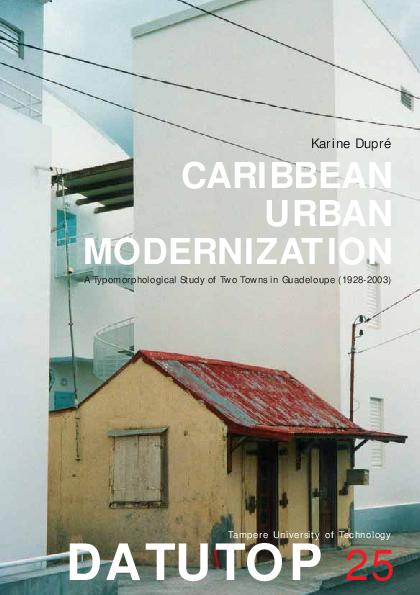 Pdf Caribbean Urban Modernization Datutop 2004 A Prof