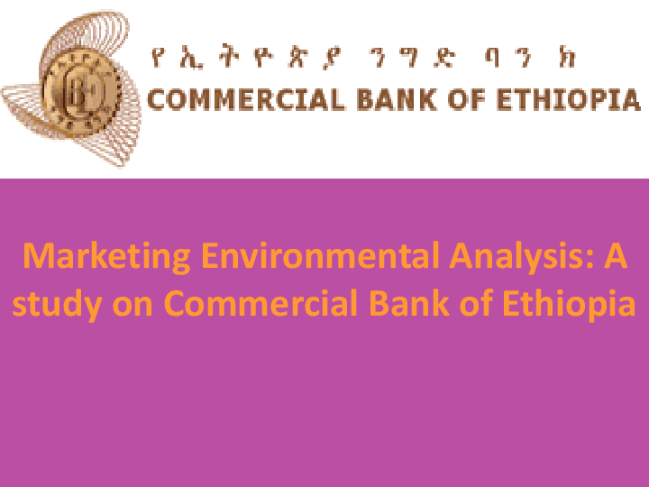 PPT) Marketing Environmental Analysis A study on Commercial