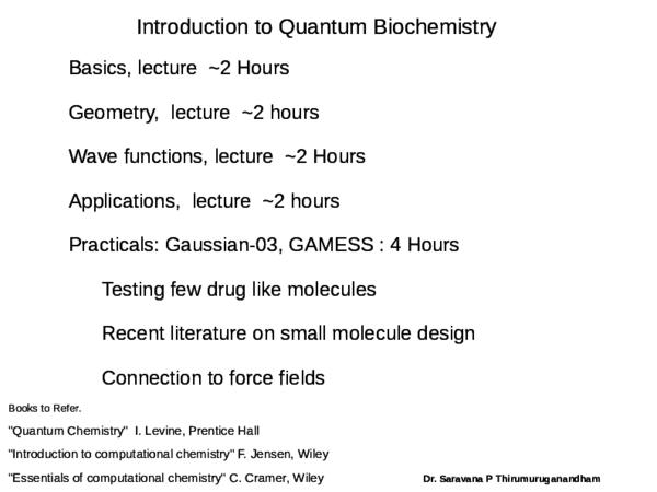 PDF) Quantum Molecular Physics -University of Quindio, Armenai