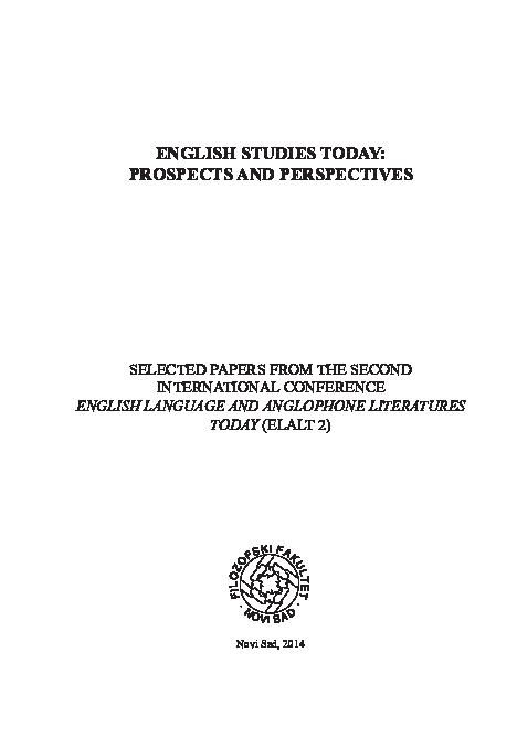 PDF) Silaški, N , & Radić-Bojanić, B  (2014)  Metonymy in