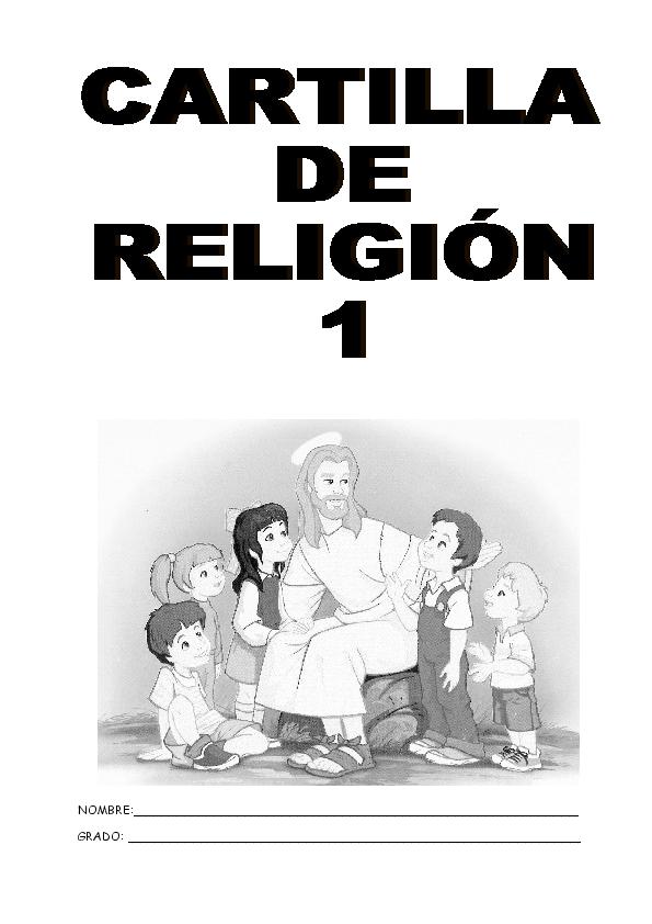Doc Cartilla De Religion Para Grado Primero Anderson Mendoza