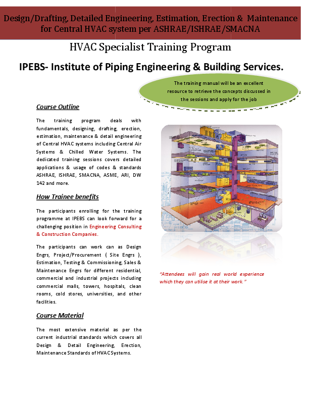 PDF) HVAC Design & Drafting per ASHRAE | Mohamed Abdulaziz