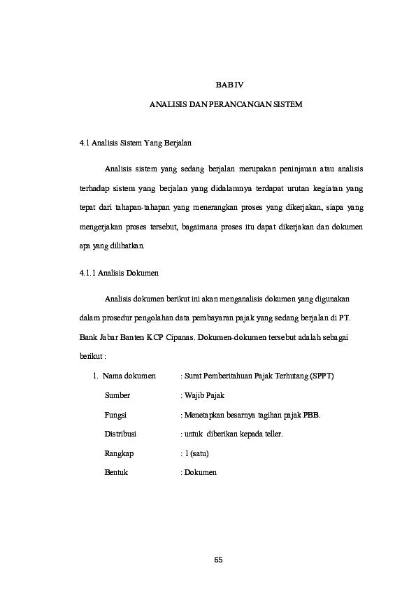 Doc Sistem Pembayaran Pbb Sri Ningsih Academiaedu