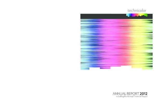 PDF) Technicolor annual report 2012 | Hyewon Nam - Academia edu