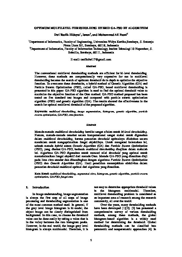 Ga Pso Matlab Code