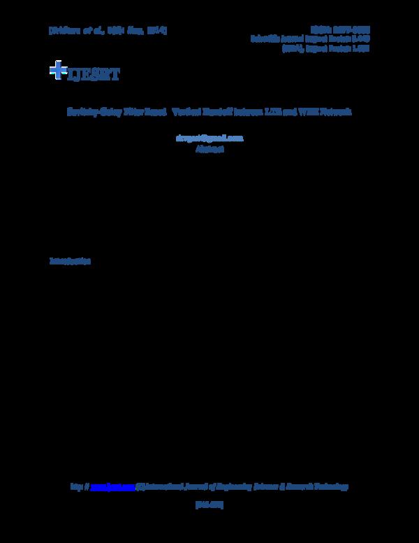 PDF) Savitzky-Golay Filter Based Vertical Handoff between