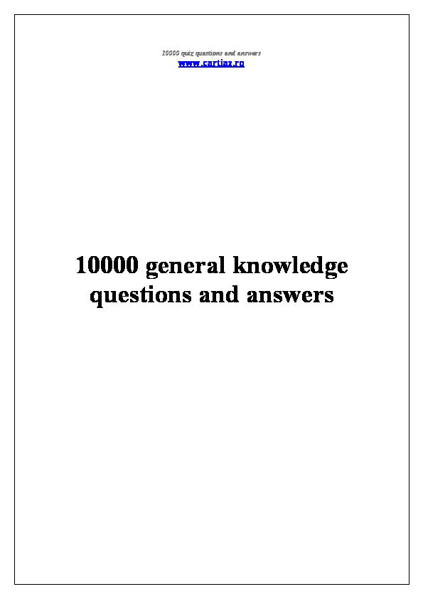 PDF) 10000 questions | Oanh Nguyenkim - Academia edu