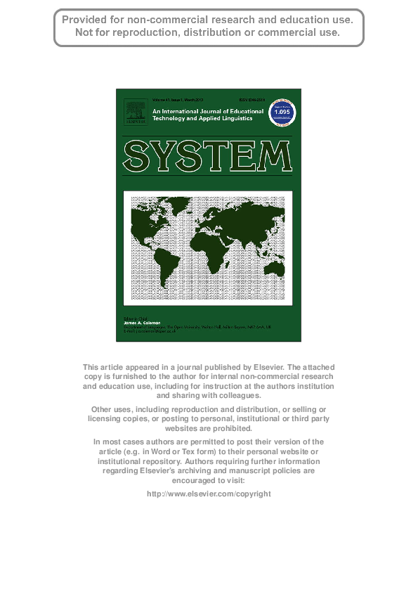 PDF) SYS1200   Elsa Tragant - Academia.edu