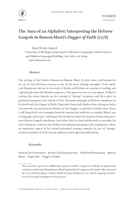 PDF) The Aura of an Alphabet: Interpreting the Hebrew