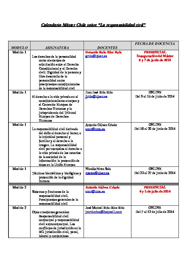 Calendario Ujaen.Calendario Master Chile Iii Definitivo Ethian Orellana Academia Edu