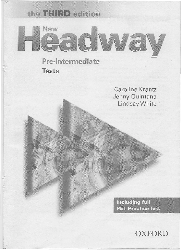 New Headway Intermediate Third Edition Test Book