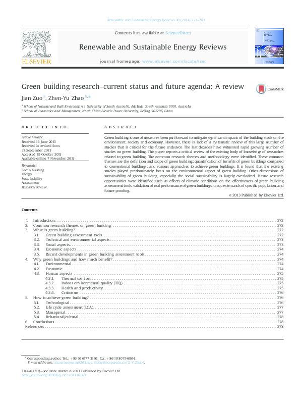 PDF) Green-building-research-current-status-and-future