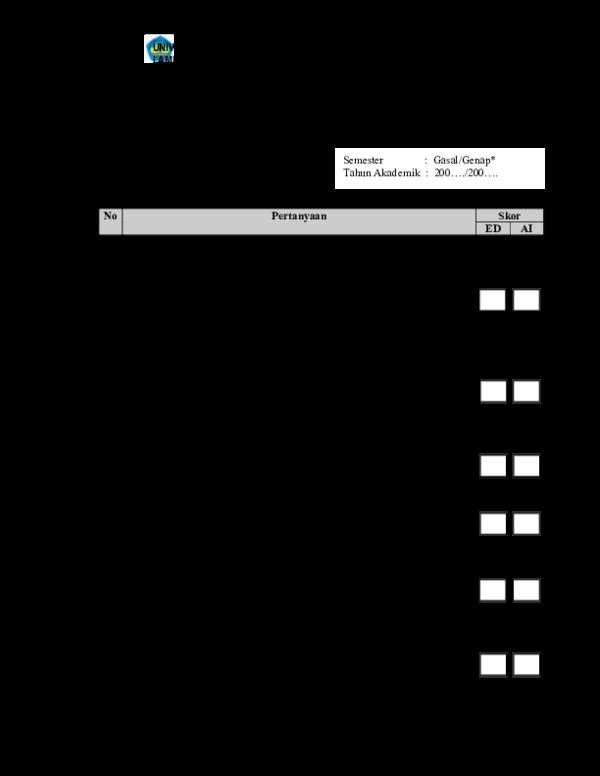 Pdf Dokumen Level Borang Monitoring Evaluasi Kode Ramdani Hidayat Academia Edu