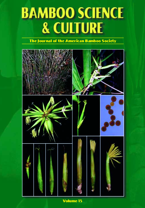 PDF) Field identification Key for Bamboos of Kerala | Remesh