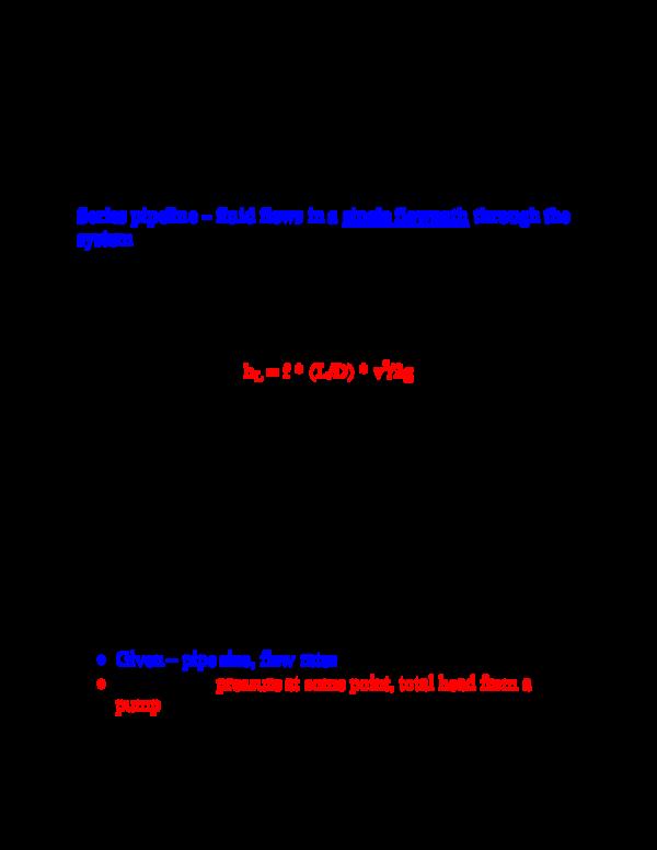 PDF) Pipe line bernoulli equation | بندر الغامدي - Academia edu