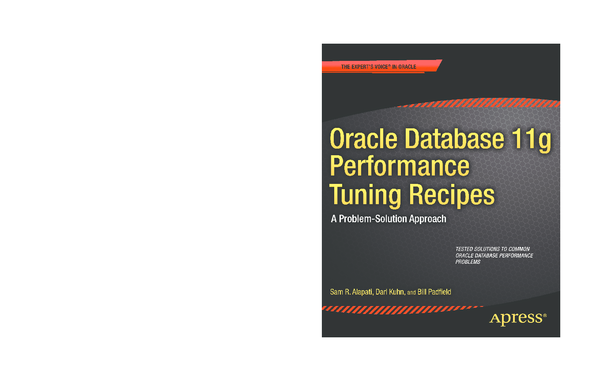 Oracle Database 11g Performance Tuning Recipes Pdf