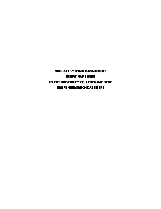 nike supply chain - Monza berglauf-verband com