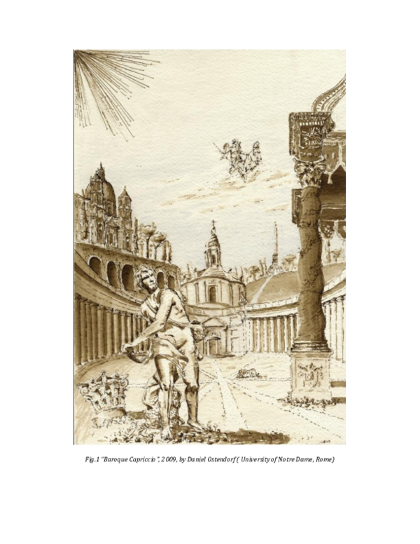 Pdf Sublime Architecture Capricci In Sketchbook And Paintings Lucien F Steil Academia Edu