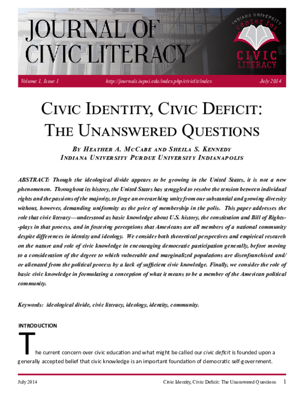 560+ Civic Knowledge Pdf HD Terbaik