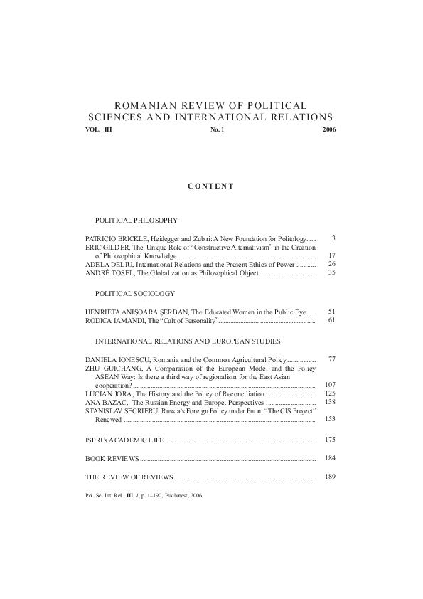 Pdf The Unique Role Of Constructive Alternativism In The