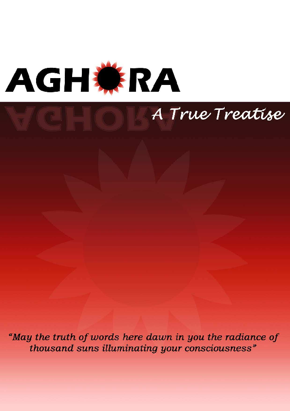 PDF) 06 Aghora ebook draft | Y Venkat - Academia edu