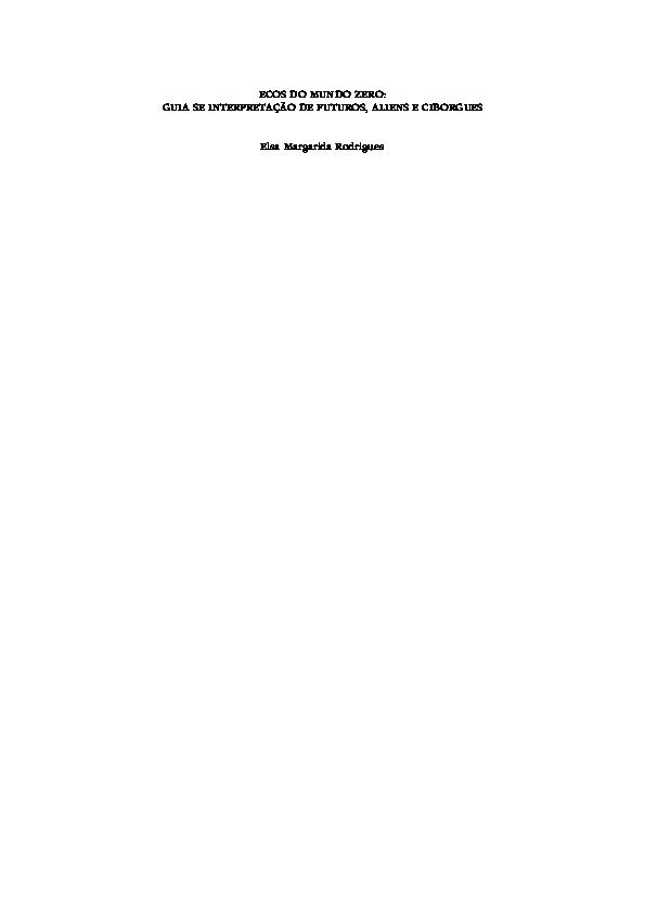 Guia Da Tipologia Extraterrestre Pdf