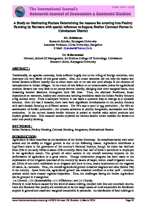 PDF) RJE&BS-MARCH-2014   Saravanan Rangaswamy - Academia edu