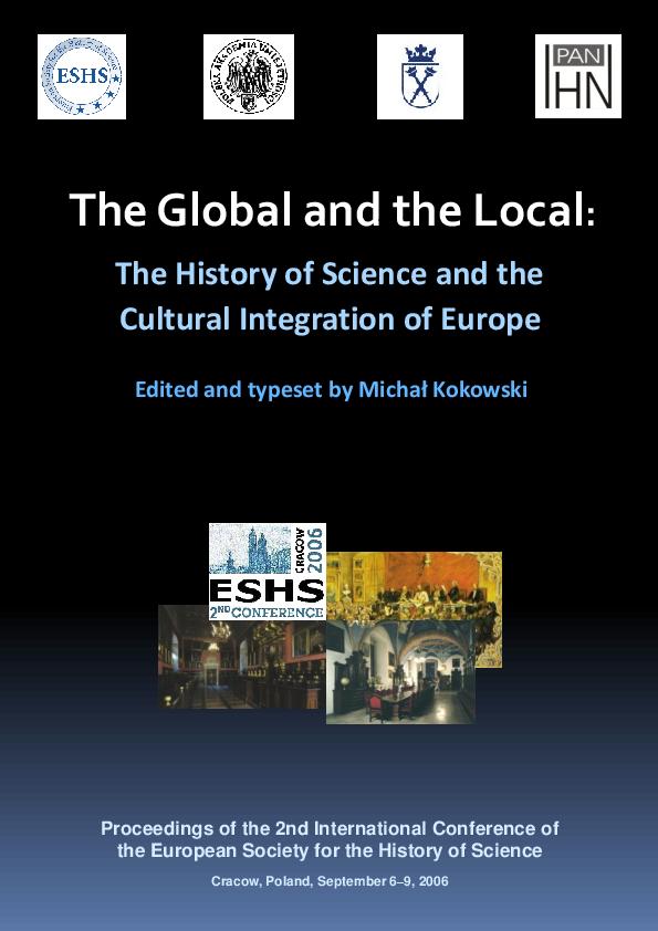 PDF) Michal Kokowski (ed.), The Global and the Local: The History of on