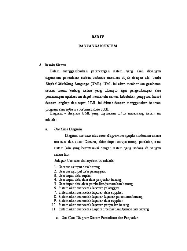 Contoh Laporan Penjualan Harian Toko Bangunan - Nusagates