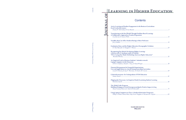 PDF) Recapturing Our Minds, Reclaiming Higher Learning: A