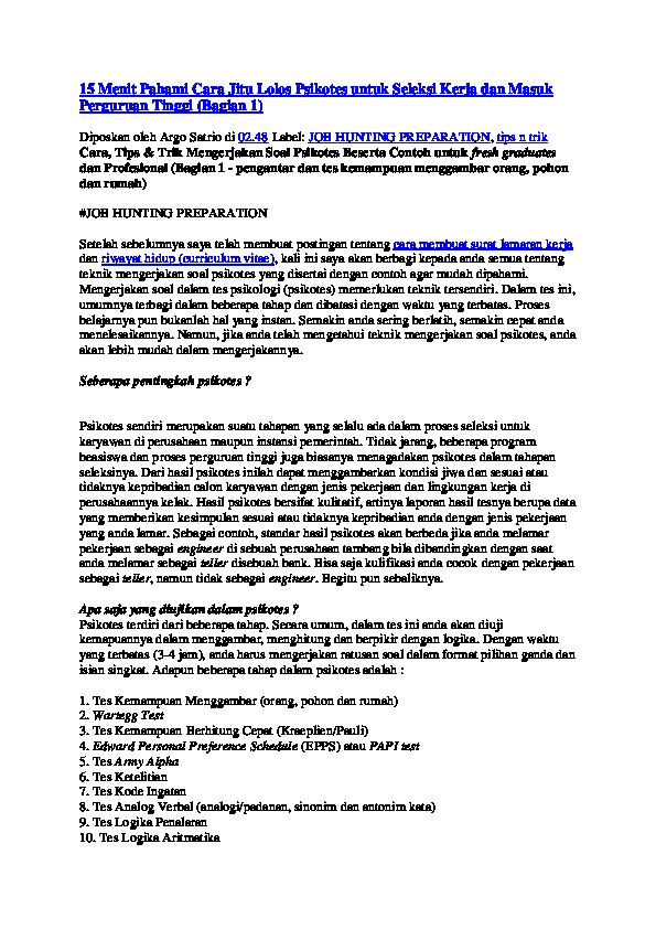 Doc 5 Menit Vaolina Rury Academia Edu